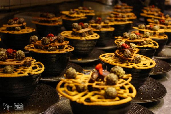 Door de productiecapaciteit van de 3D-printer te vergroten kan er ook naar catering voor events gekeken worden
