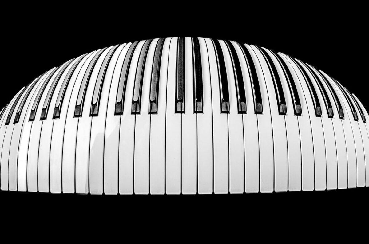 Vergeet de rode loper: rol een piano voor de gasten uit