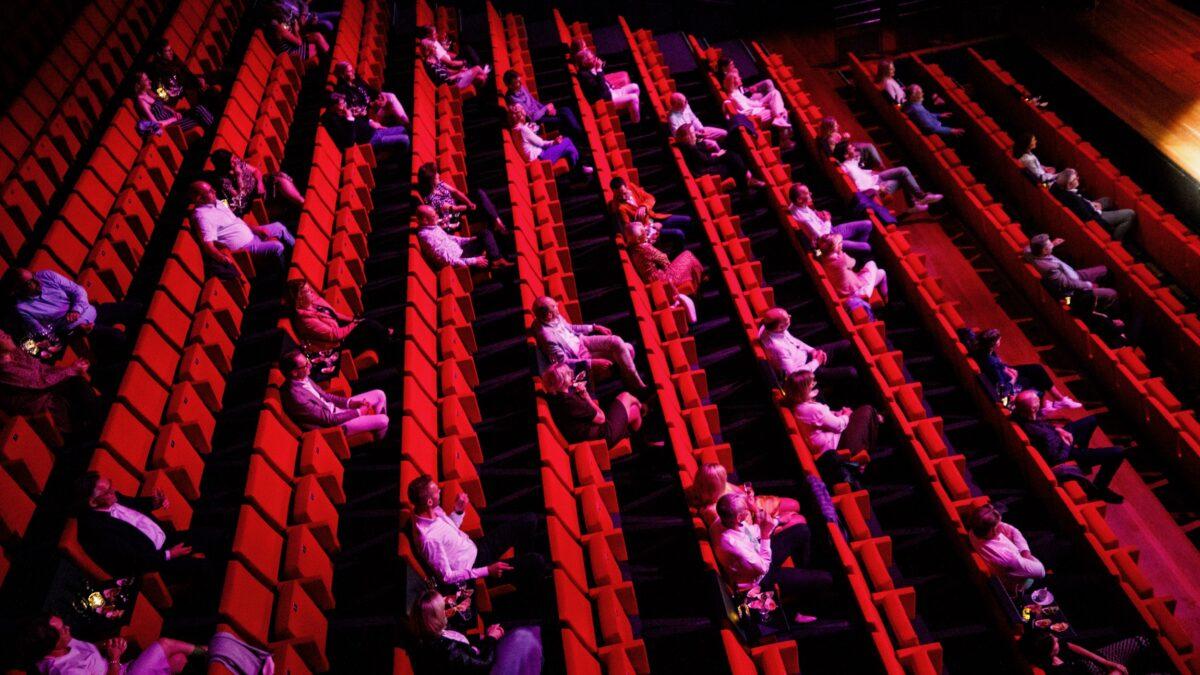 Chasse Theater coronaproof opstelling in rijen