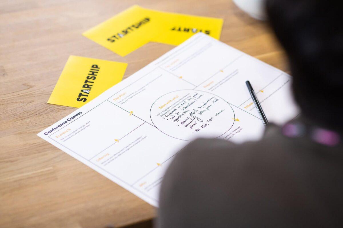 Een event bezoeken met een duidelijk doel en plan dankzij de canvas conference workshop