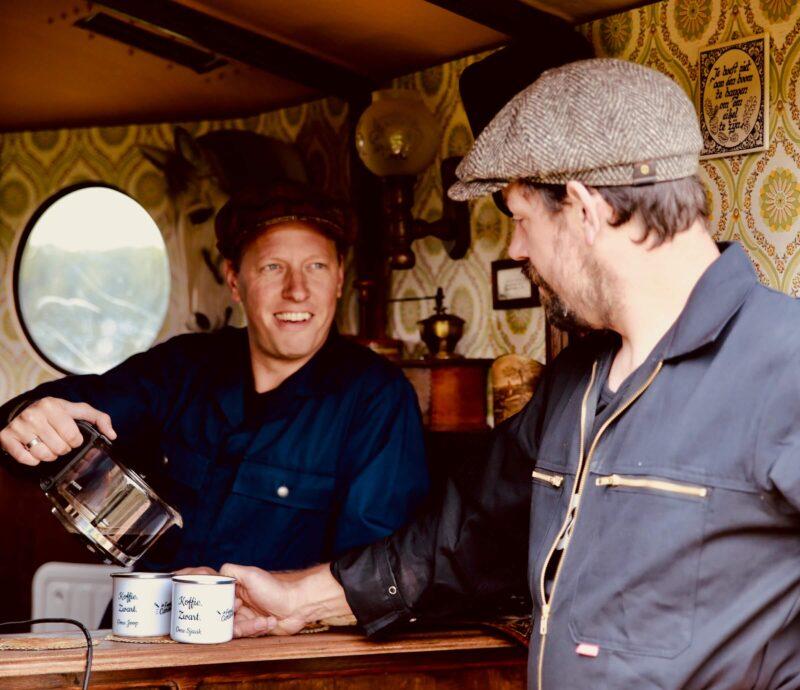 Lekkerk kopje koffie en boerengezelligheid op je event dankzij stalbuck
