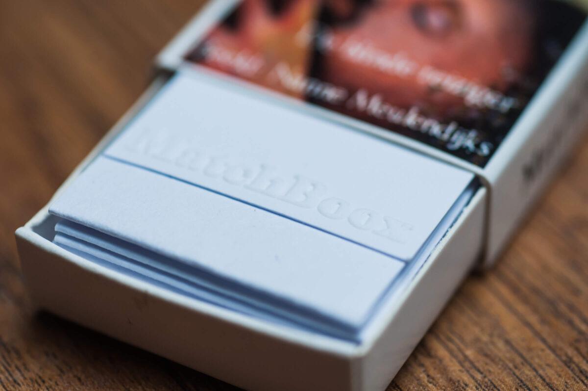 Matchboox als relatiegeschenk of herinnering aan een event