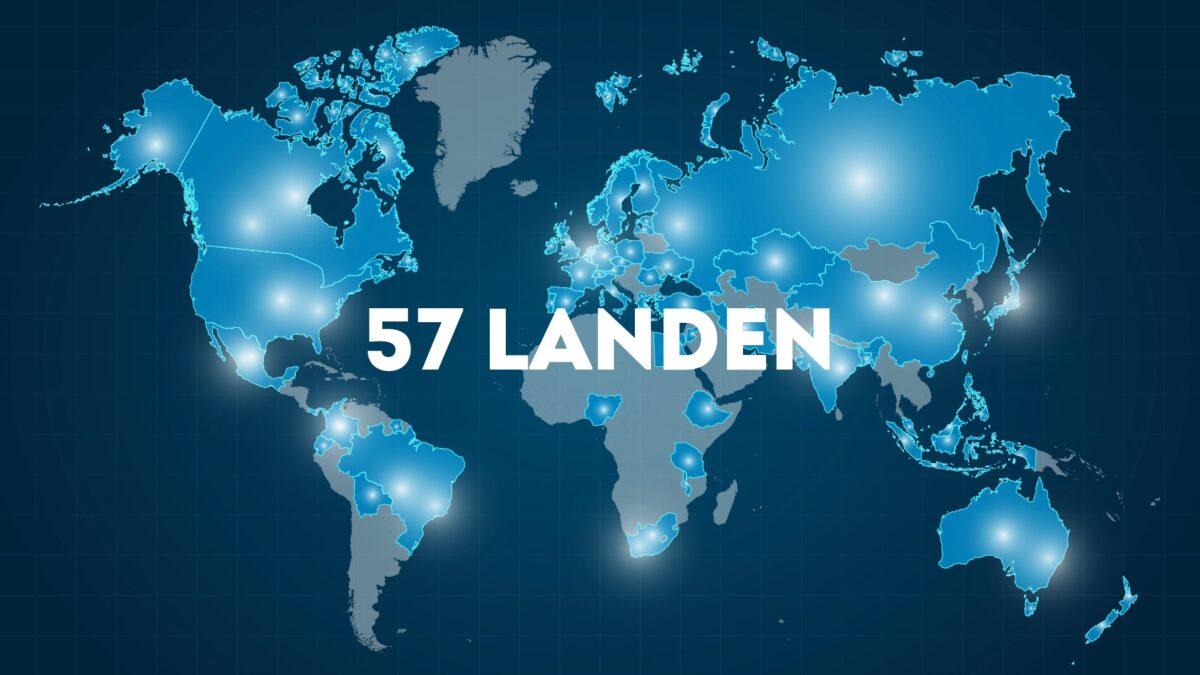 Online event remote teambuilding in 57 landen