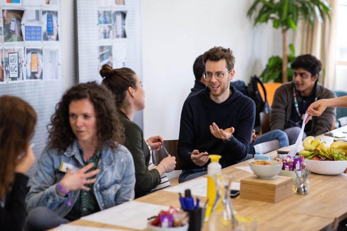 de conference canvas workshop ter voorbereiding op the next web werd georganiseerd door startship