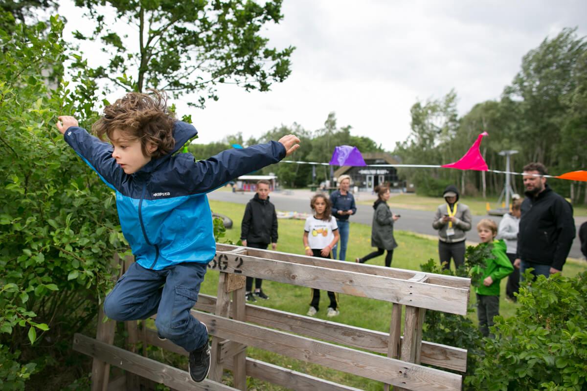 Camping op Stelten hindernisbaan - Xsaga - Copyright Janus van den Eijnden