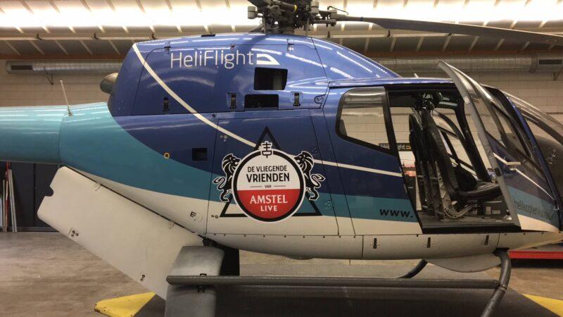 Heliflight - Activities - Vliegende Vrienden stickers