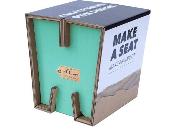 Cartoseat Fold kartonnen kruk