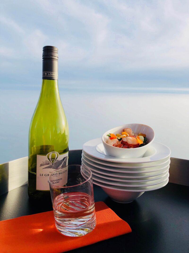 event inspiration | Wijn ballonvaart Le Grande Ballon-Dining with a view-Skydining-Dutch Cuisine (1)