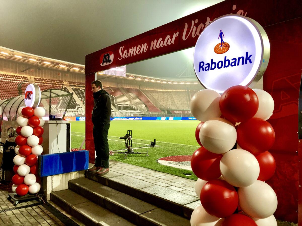 event inspiration   ball-on   gespot   Ballon_pilaar_AZ_Rabobank
