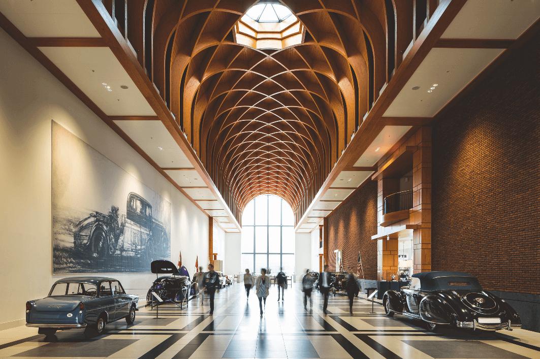 Louwman museum Great hall geheel