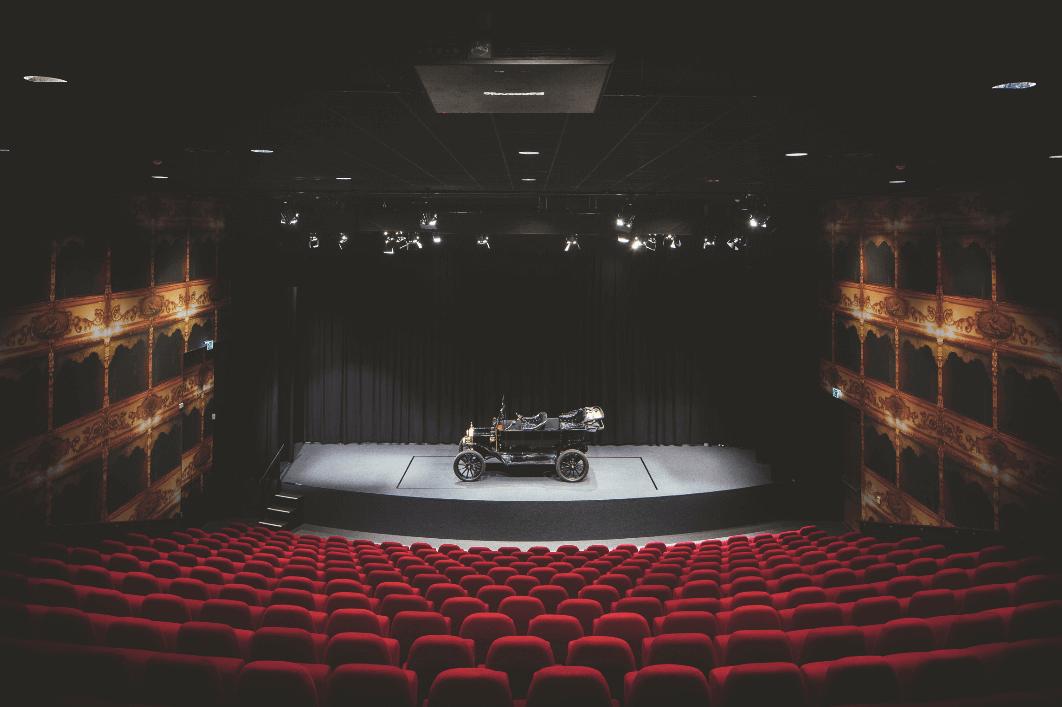 Louwman museum Italiaanse theater