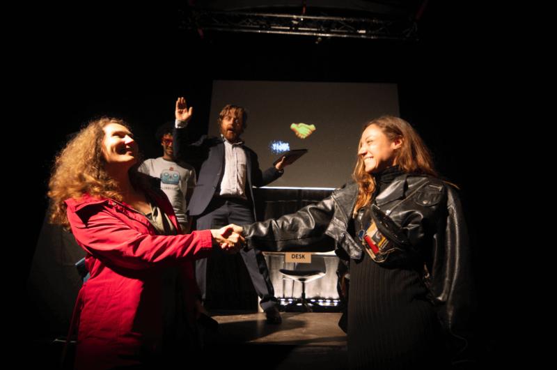 The Social Sorting Experiment - best handshake kopie