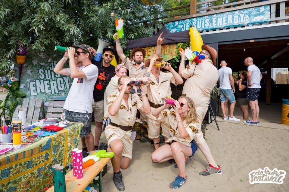 je suis ernergy - act - activatie - brand - Festival Safari
