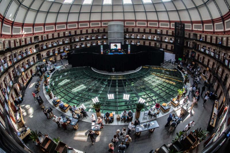 locatie - koepelgevangenis - futuredome events - 03 Klimaattop - overzichtsfoto atrium