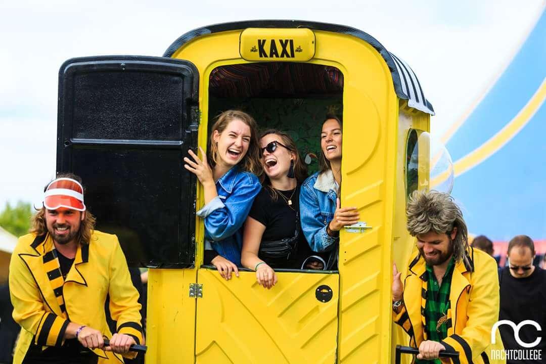 taxi - act - entertainment - festival - activatie - Smeerboel 2019-1
