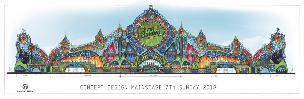 7th sunday 2018 - stage deisgn - hans kuijten - festival