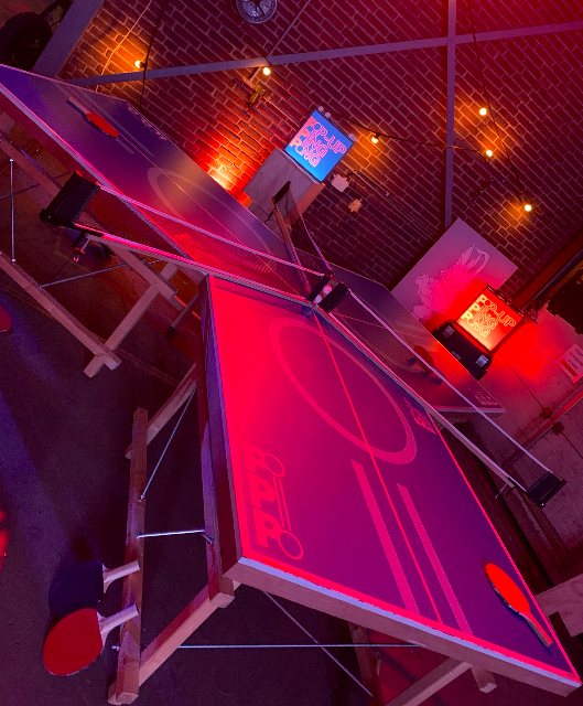 Ping pong - showkees2019 - spel - entertainment beurs