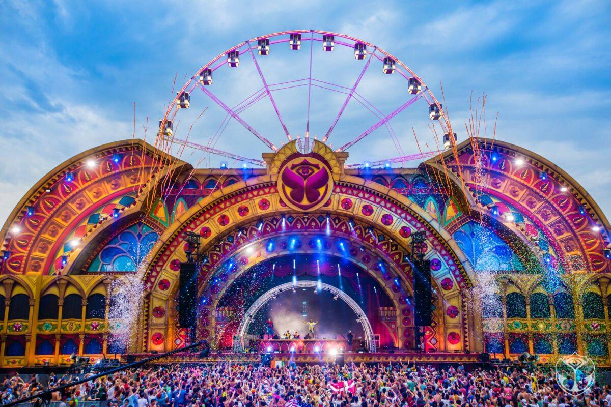 Tomorrowland - festival - stagedesign - hans kuijten