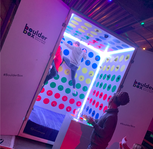 boulderbox - showkees2019 - twister - entertainment beurs - 1