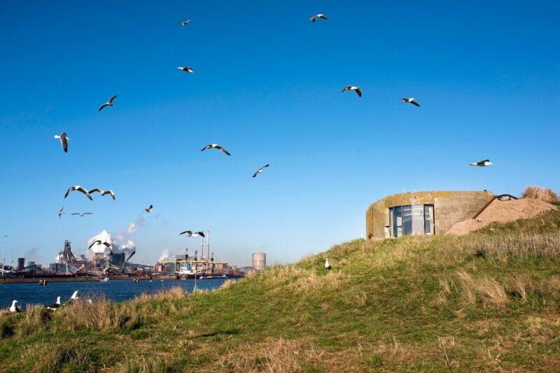 fort ijmuiden - locatie - eiland - event - 6