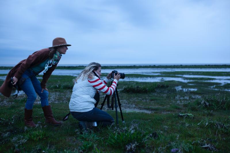fotograferen landschap - meet in friesland - night sky