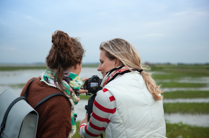 fotograferen samen kijken - meet in friesland - nacht - donker - night sky