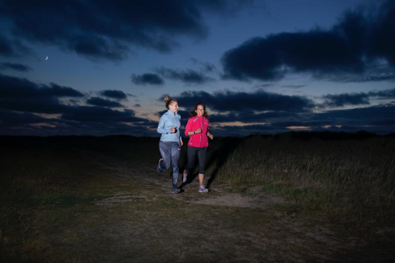 hardlopen actie - meet in friesland - night sky
