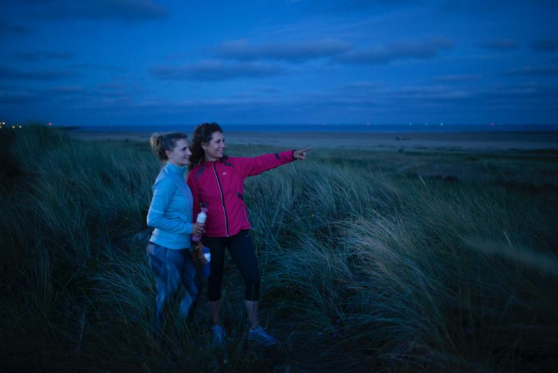 meet in friesland - nacht - hardlopen rust