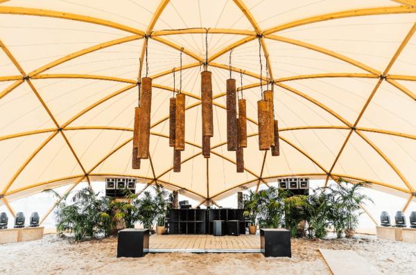 organic concept - tent - bamboo - OrganicConcept-WeCanDance