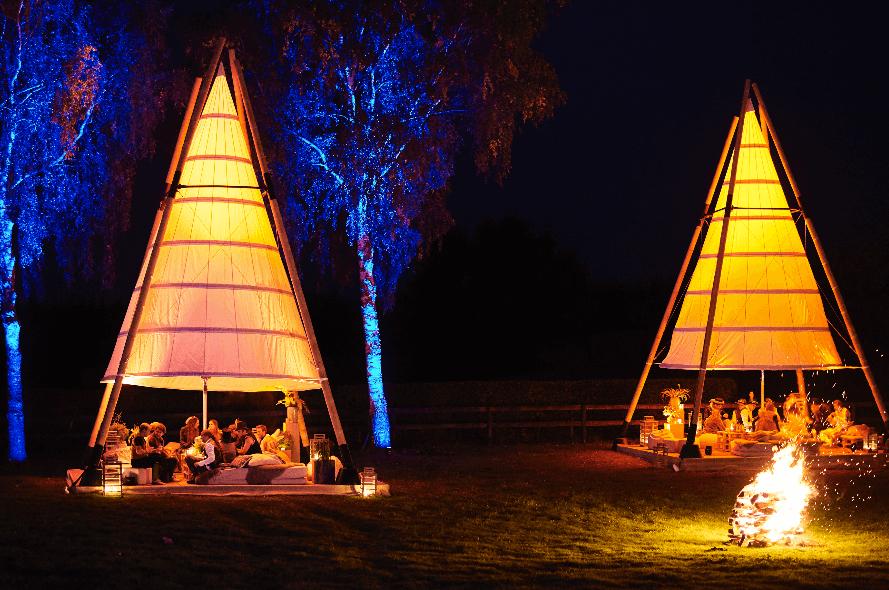 organic conpcept - tent - licht - Bamboo-Tipi-hoofdfoto