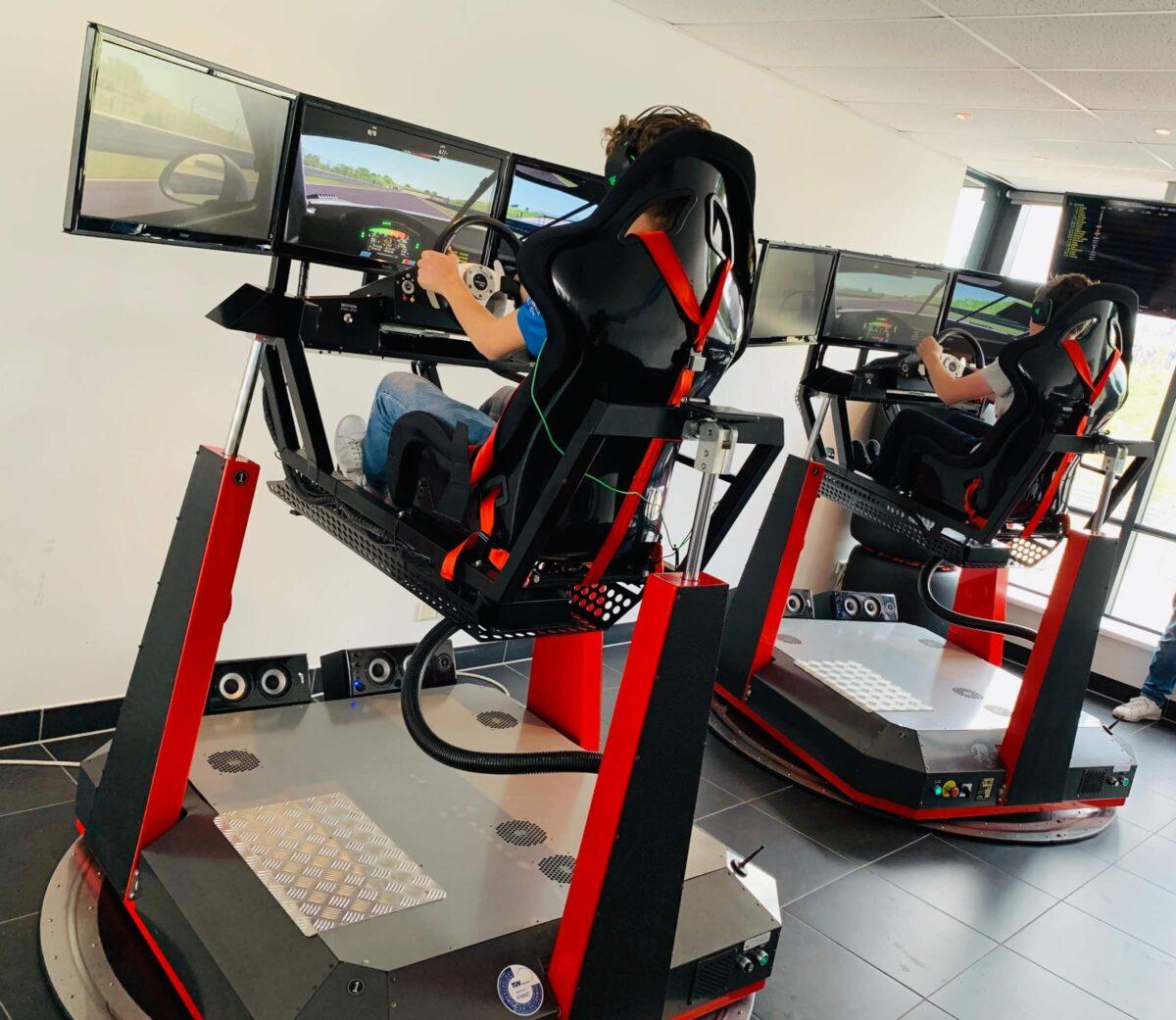 racesimulatie - simulator - beleving - rl racing - f1