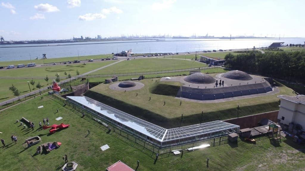 Luchtfoto's 1 Fort 1881 - historisch - locatie - congres - corporate event - 1