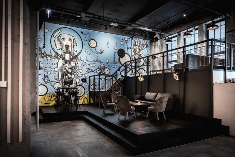 Stage _ VIP- de bajes - restaurant - street art - horeca