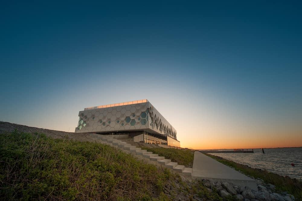 afsluitdijk waddencenter - friesland - eventlocatie