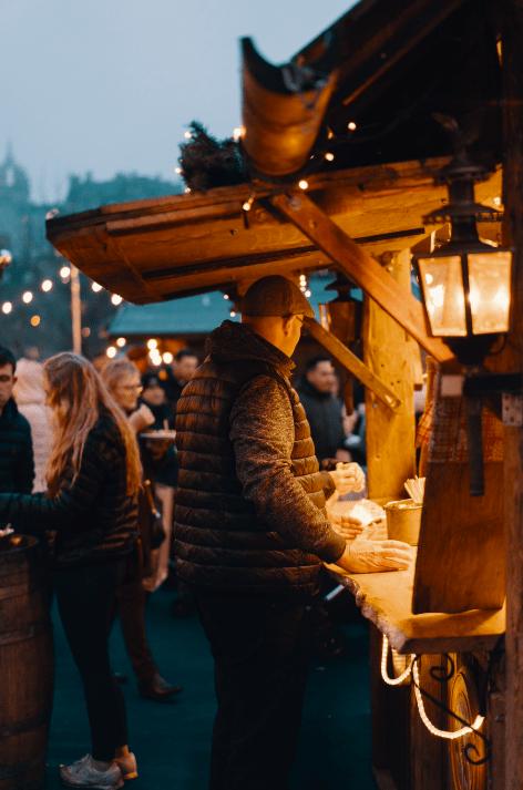 kerst - kerstpakket - cadeau - stand - horeca - winter