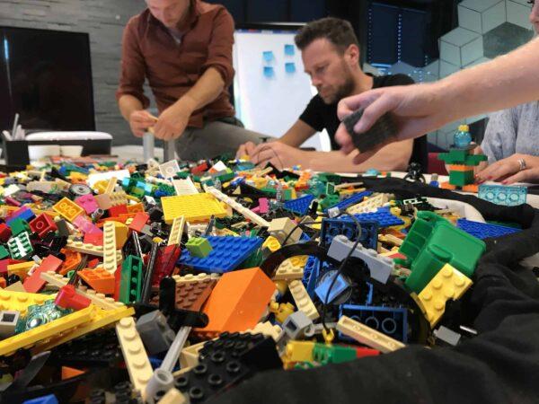 Gespot: Met Lego Serious Play bouwen aan de toekomst