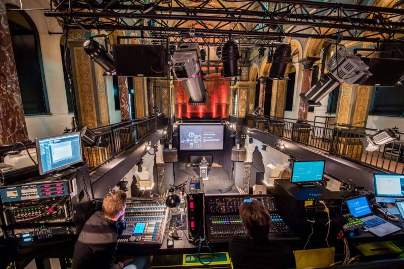 ACS audiovisual solutions - Mapping, Hologram, Beeld, Licht & Geluid - corporate events - Anneke Postma