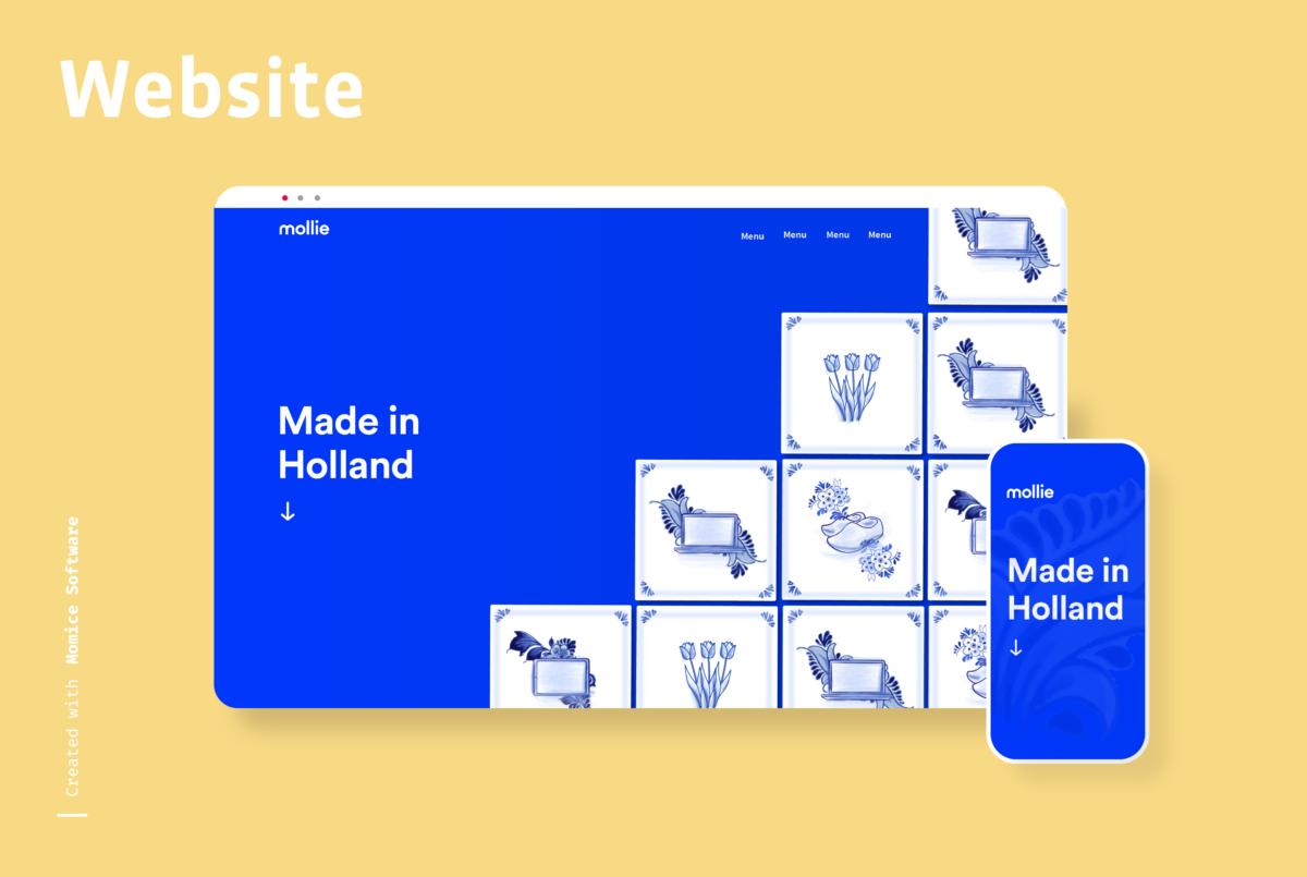 Momice_Event_Website - communicatie - design