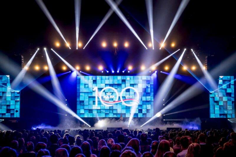 UNLIMITED PRODUCTIONS - stage - event design - productions - klm -