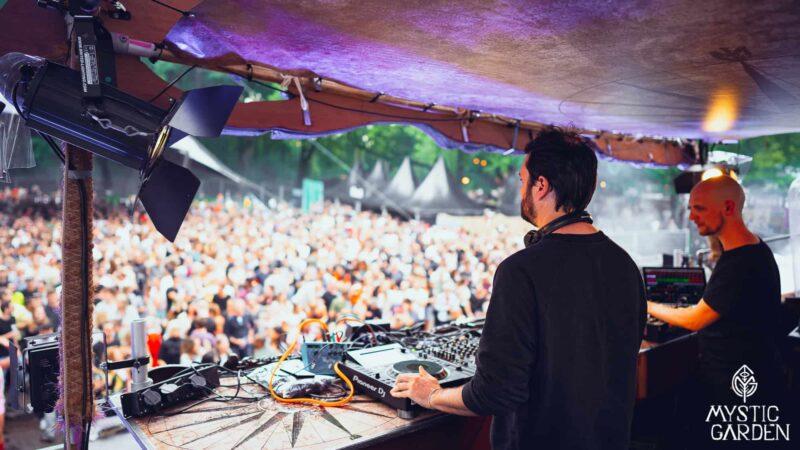 DJ Stage booth Dockyard Mystic Garden Ronald Duikersloot
