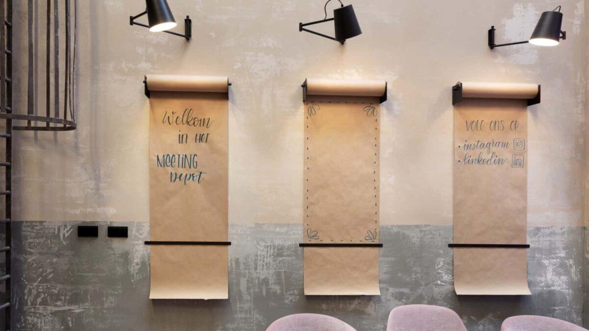 Meeting Depot - whiteboard papier
