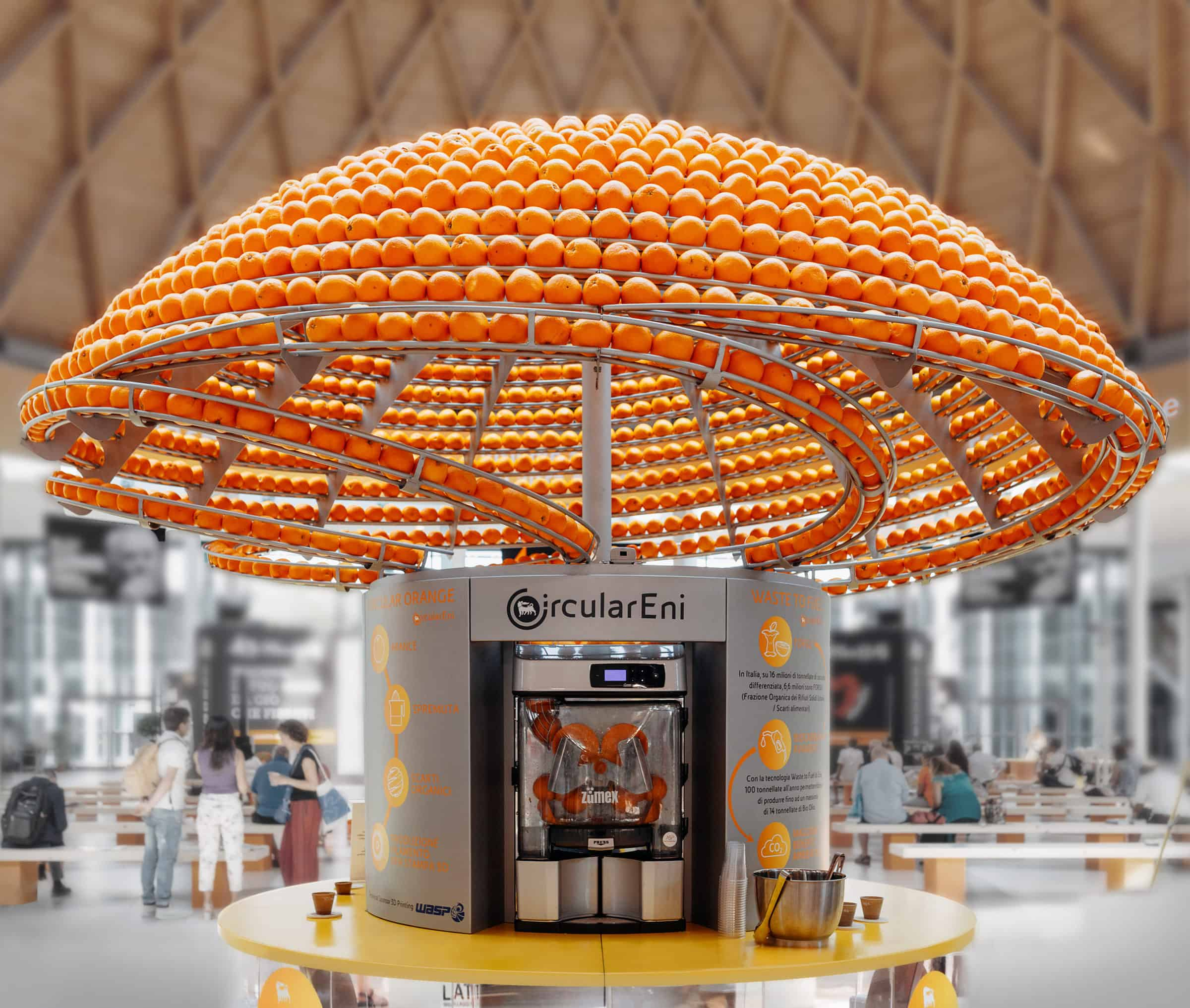 Feel the Peel - sinaasappelmachine