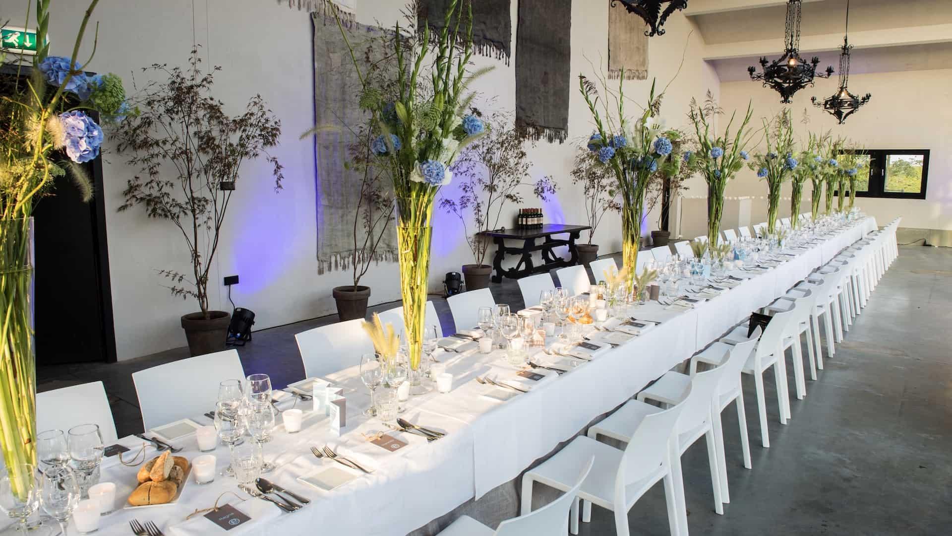 Bakx & Meijer - lange tafel - diner