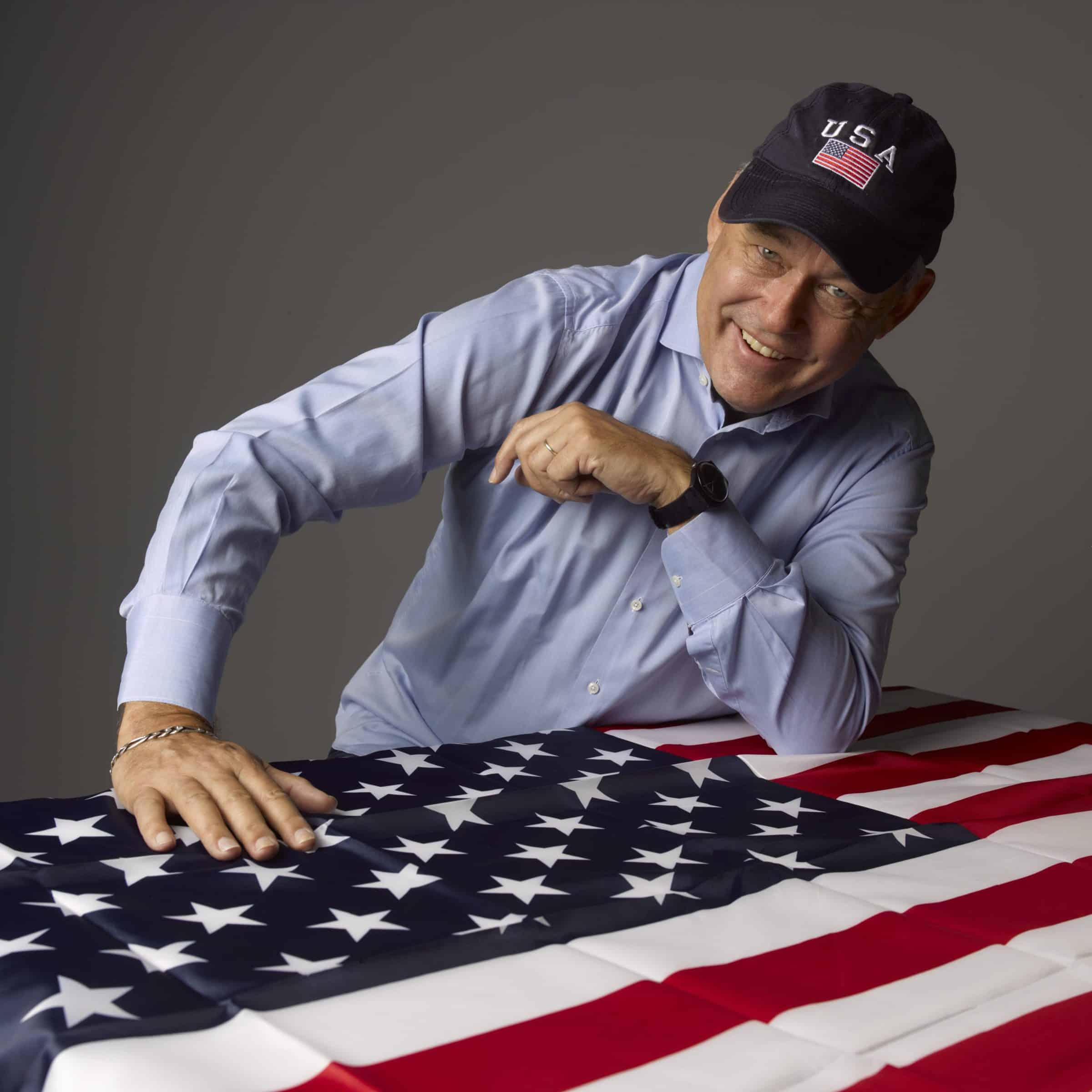 Charles Groenhuijsen - Amerikaanse vlag