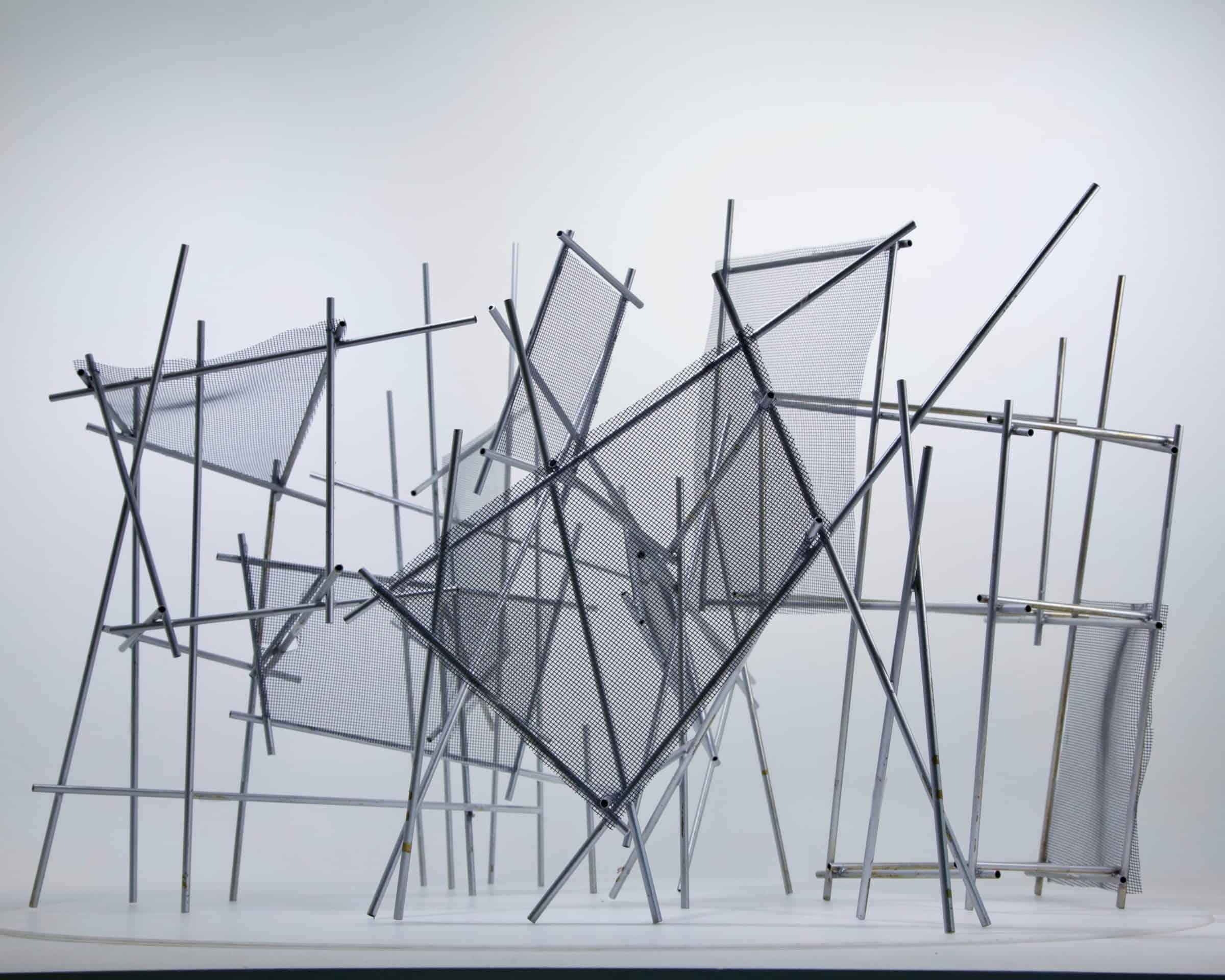 Kunst - palen - Aldo Brinkhoff