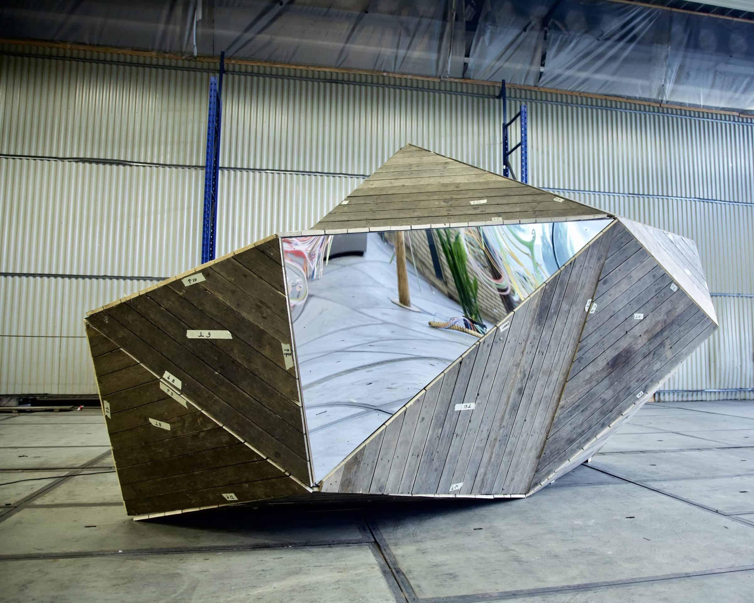 Spiegel object - Aldo Brinkhoff