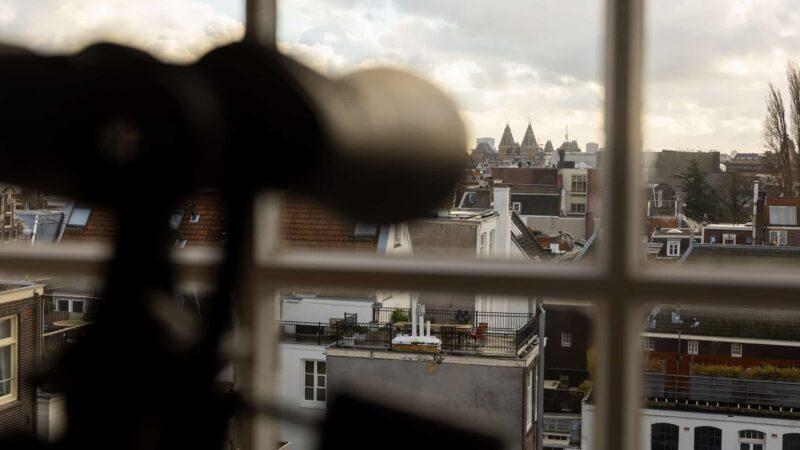 Felix Meritis - Amsterdam - verrekijker