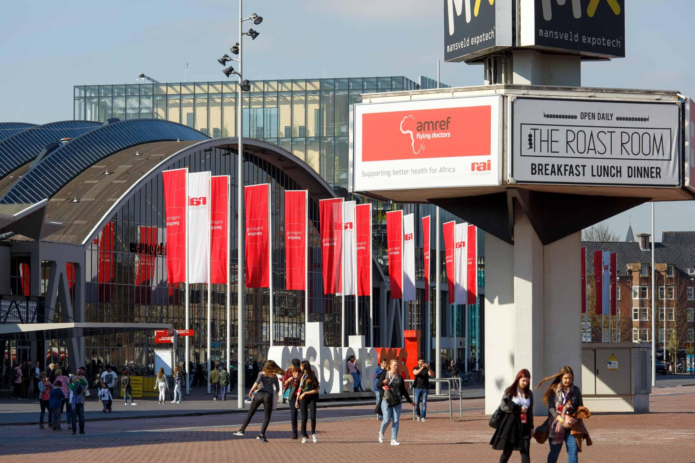 rai amsterdam - concert - event - locatie
