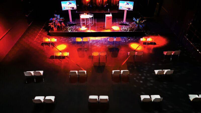 Coronaproof zaal bij TivoliVredenburg