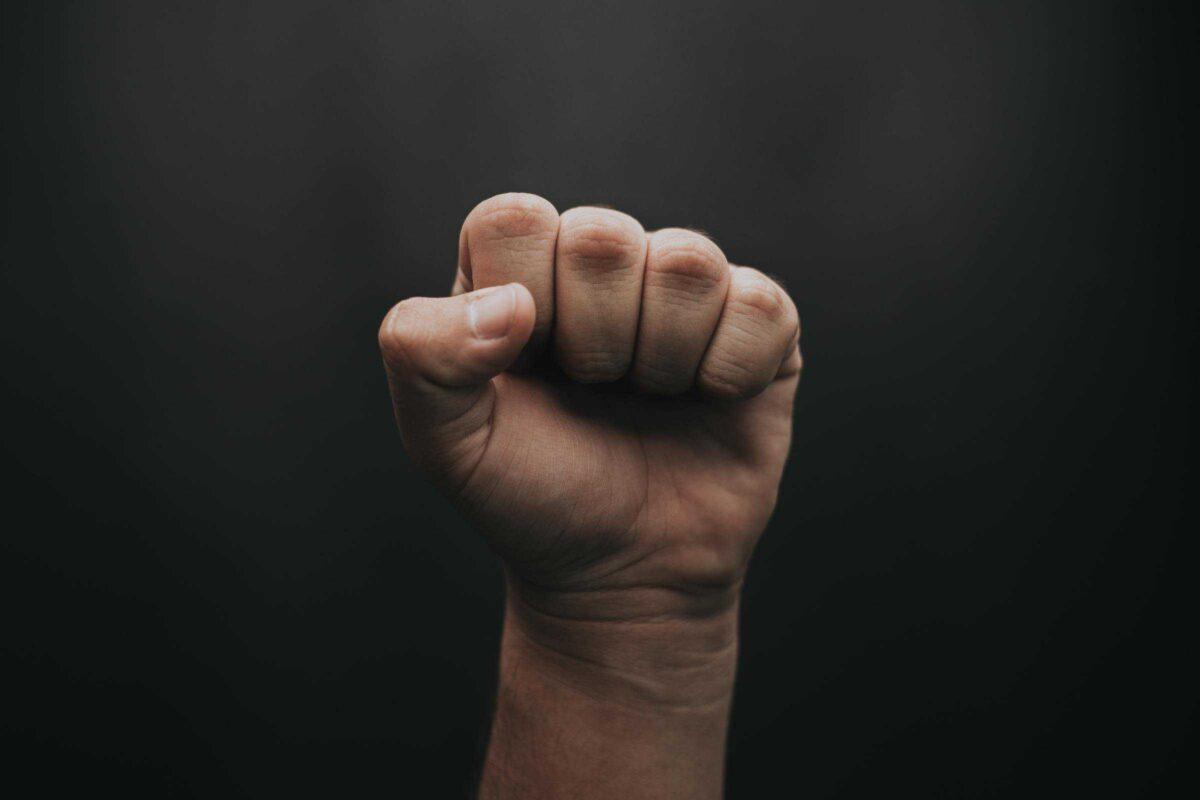 Hand positiviteit initiatieven coronavirus luis-quintero